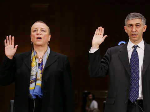 HSBC executives testify at U.S. Senate (photo courtesy of The Guardian, 17 June 2012)